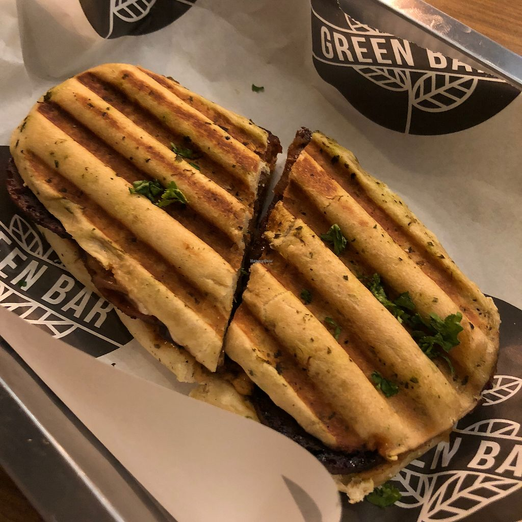 """Photo of Green Bar - Makati  by <a href=""""/members/profile/earthville"""">earthville</a> <br/>Hail seitan <br/> February 7, 2018  - <a href='/contact/abuse/image/68402/355992'>Report</a>"""
