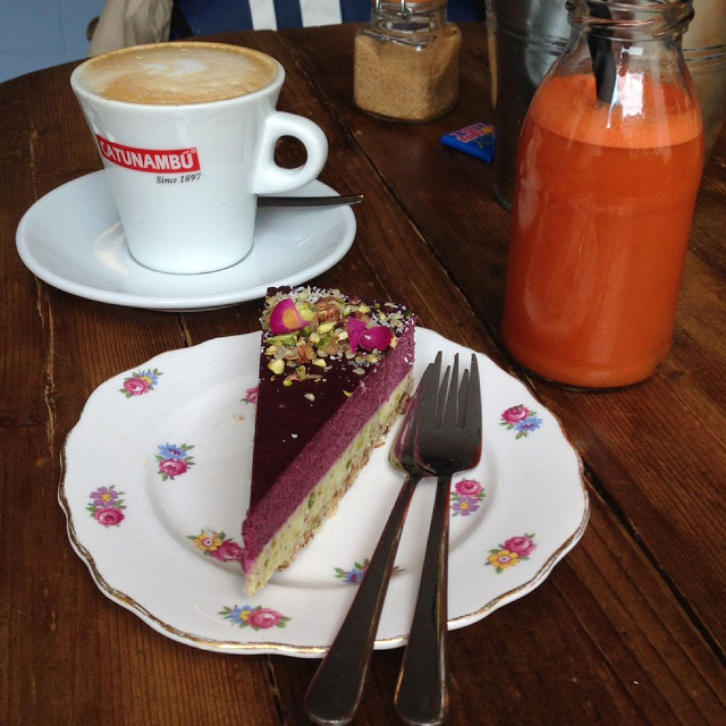 """Photo of By Lima  by <a href=""""/members/profile/annav."""">annav.</a> <br/>vegan pie with a carrot juice jum <br/> July 4, 2016  - <a href='/contact/abuse/image/68406/157697'>Report</a>"""
