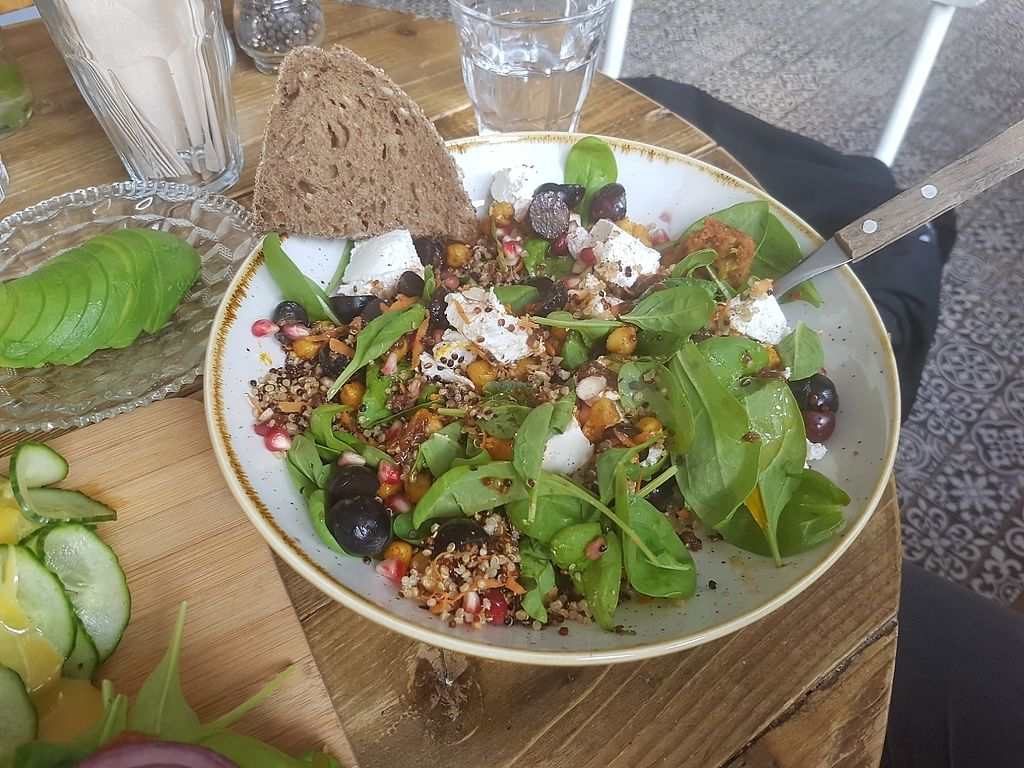 """Photo of By Lima  by <a href=""""/members/profile/PhilWatson"""">PhilWatson</a> <br/>goats cheese veggie bowl <br/> August 18, 2017  - <a href='/contact/abuse/image/68406/294031'>Report</a>"""