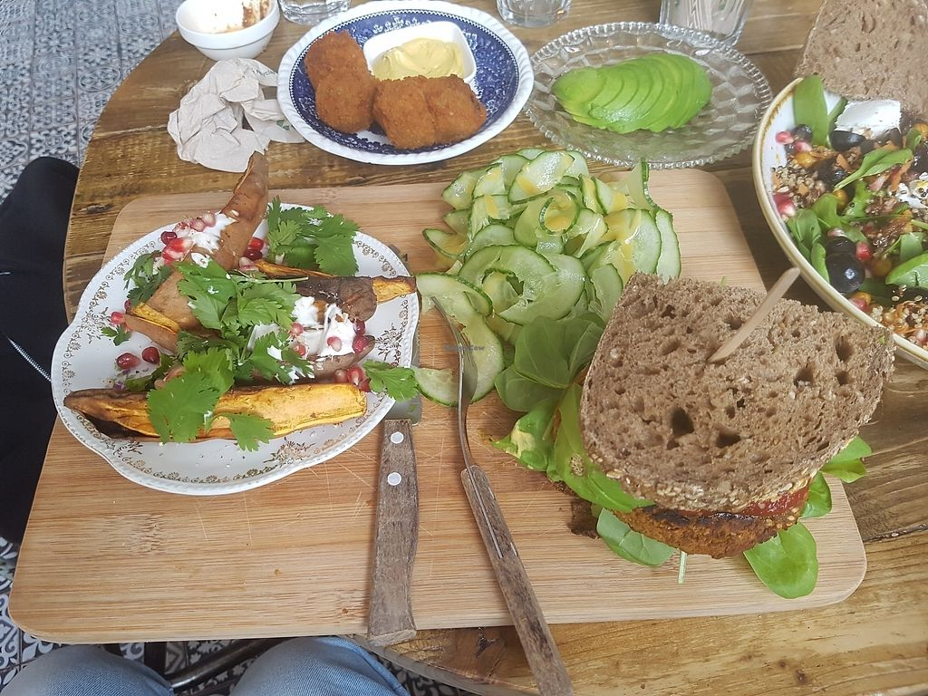 """Photo of By Lima  by <a href=""""/members/profile/PhilWatson"""">PhilWatson</a> <br/>vegan veggie burger  <br/> August 18, 2017  - <a href='/contact/abuse/image/68406/294032'>Report</a>"""
