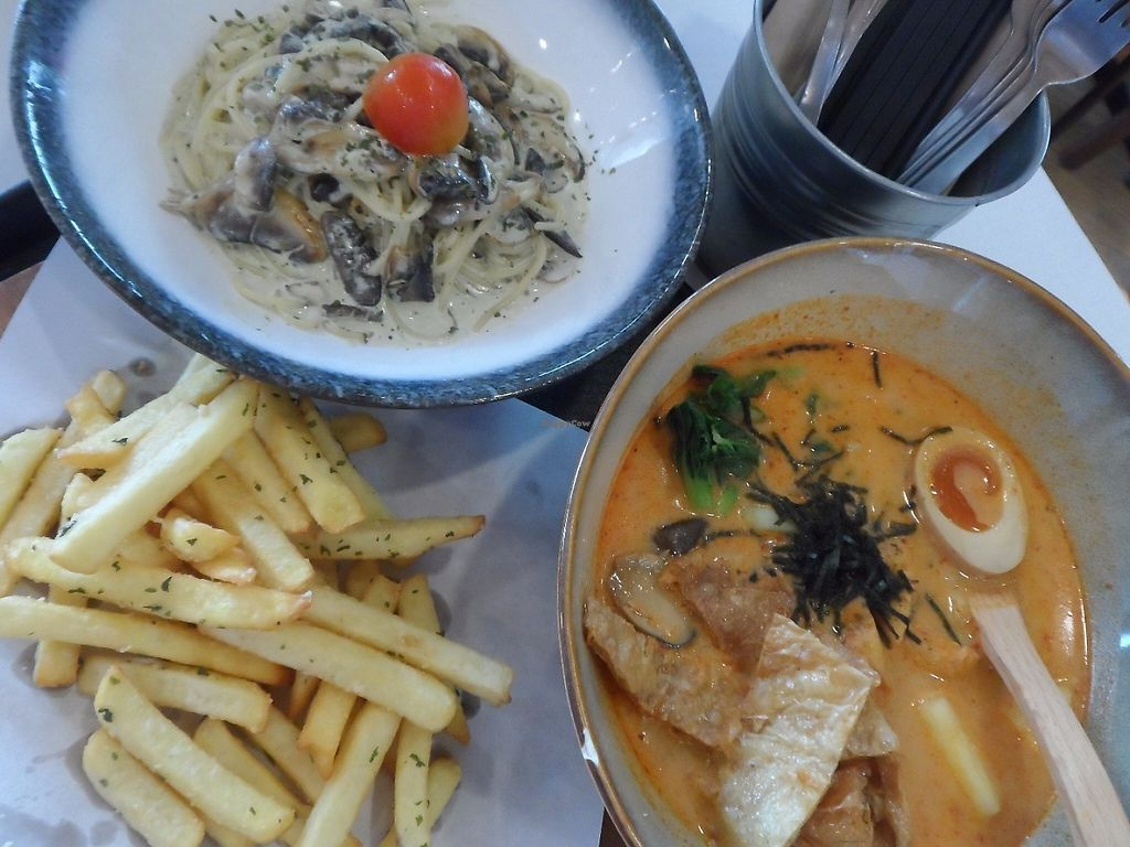 """Photo of GroVe - Punggol  by <a href=""""/members/profile/Peace%20..."""">Peace ...</a> <br/>Laksa, pasta and fries <br/> May 6, 2017  - <a href='/contact/abuse/image/68409/256029'>Report</a>"""