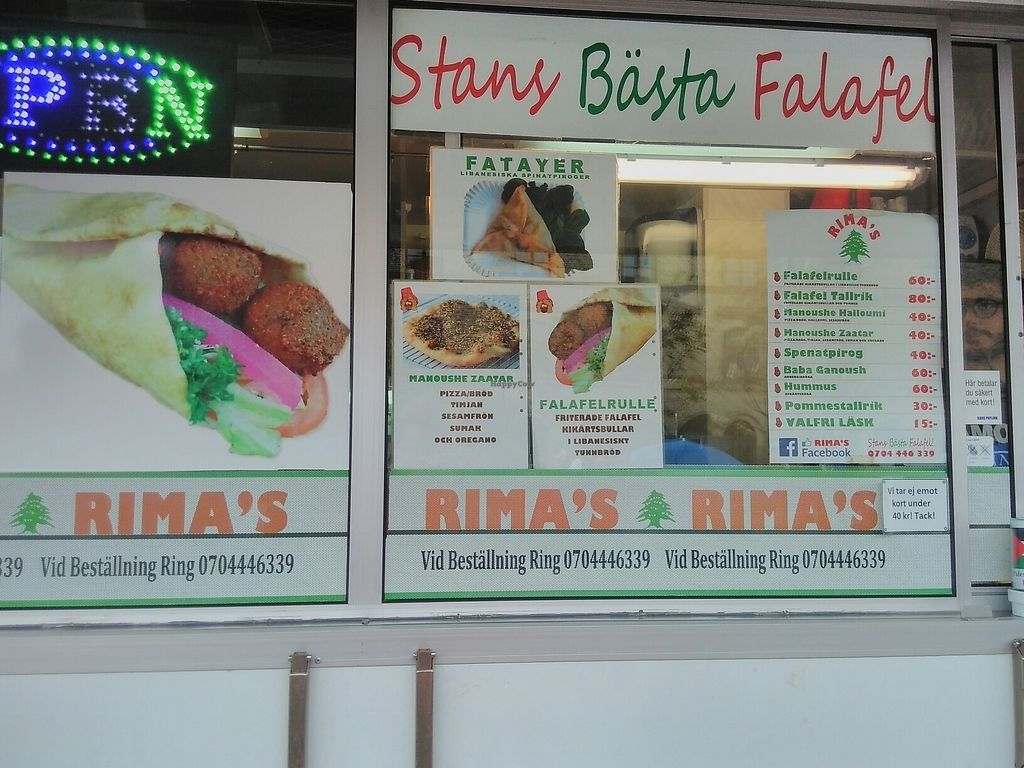 """Photo of Rima's Food Truck  by <a href=""""/members/profile/SJ82"""">SJ82</a> <br/>menu <br/> July 26, 2017  - <a href='/contact/abuse/image/68412/284942'>Report</a>"""
