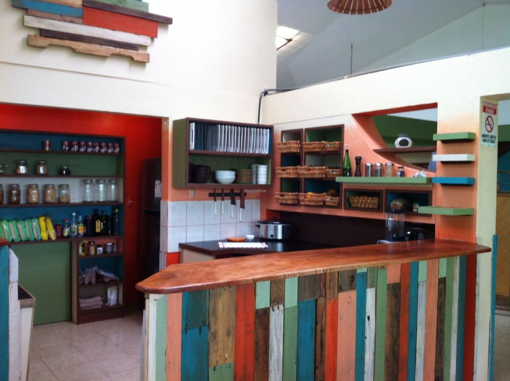 """Photo of CLOSED: Drishti Veggie Bar  by <a href=""""/members/profile/Kellyanndrishti"""">Kellyanndrishti</a> <br/>Very colorful and beautiful space, surrounded by the green of Monteverde <br/> January 23, 2016  - <a href='/contact/abuse/image/68430/133397'>Report</a>"""