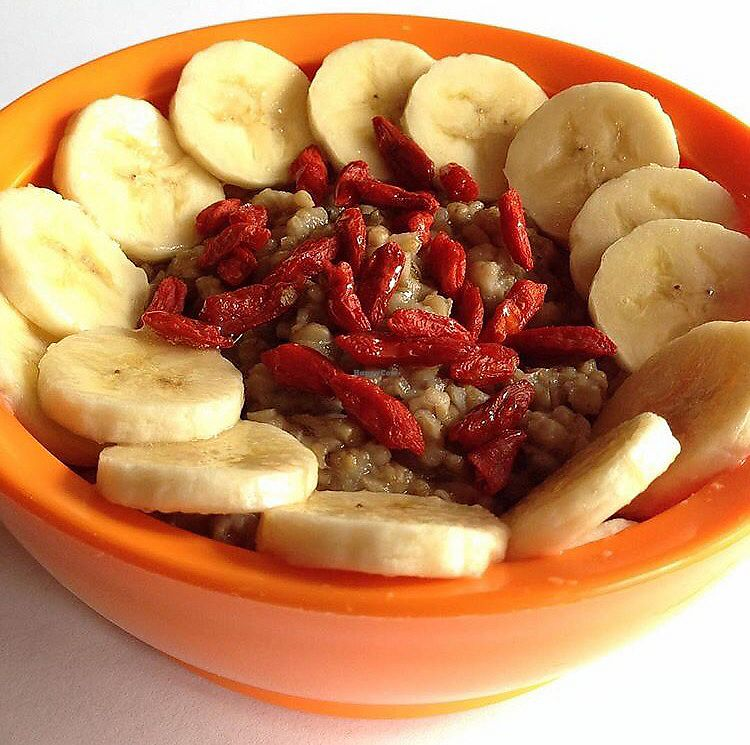 "Photo of Vitality Bowls  by <a href=""/members/profile/happycowgirl"">happycowgirl</a> <br/>oatmeal bowl (steel cut oats) <br/> August 6, 2017  - <a href='/contact/abuse/image/68480/289926'>Report</a>"