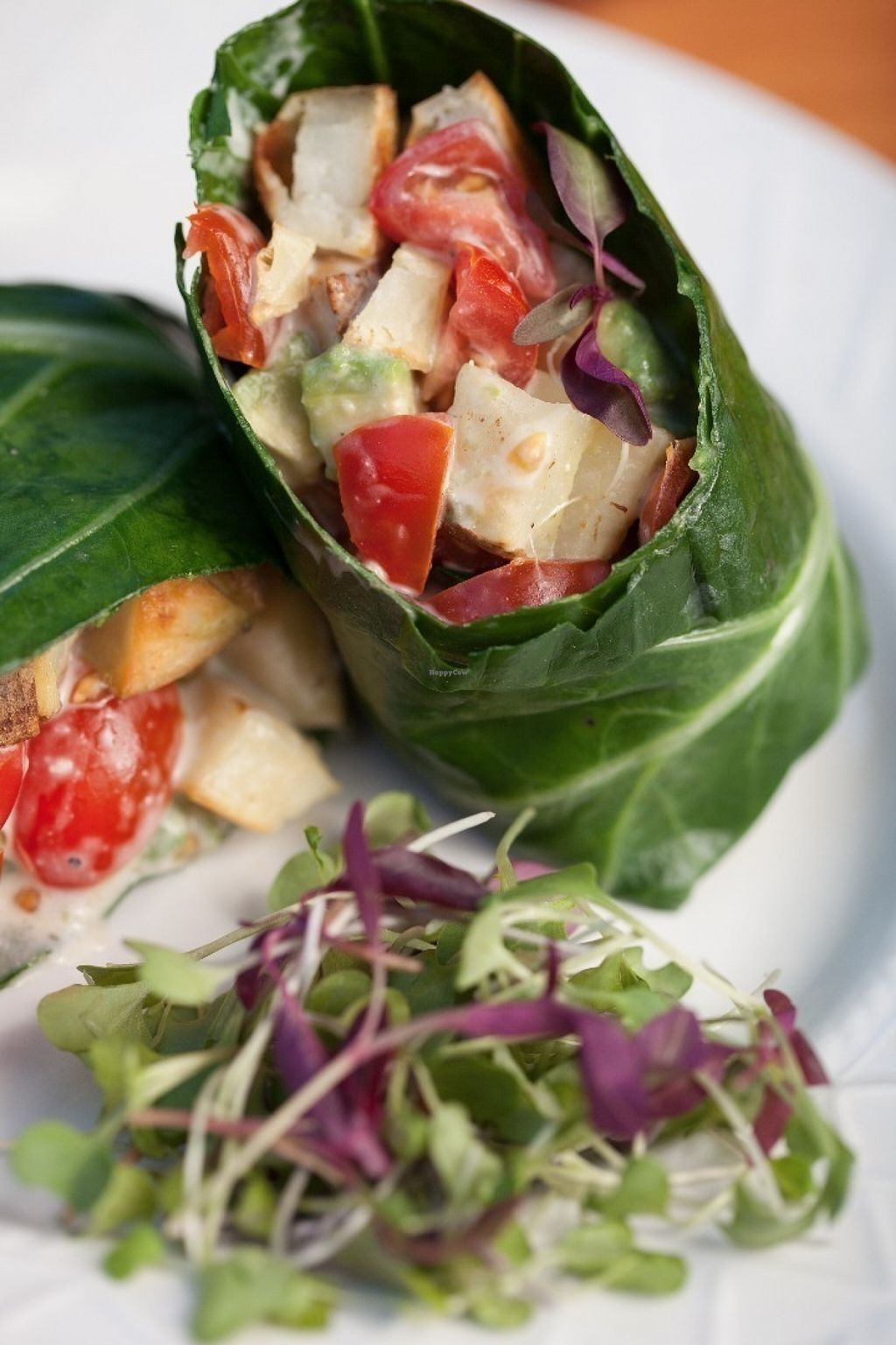 "Photo of CORE Kitchen  by <a href=""/members/profile/HappiestCowboy"">HappiestCowboy</a> <br/>Hearty Collard Wrap <br/> July 15, 2016  - <a href='/contact/abuse/image/68485/160069'>Report</a>"