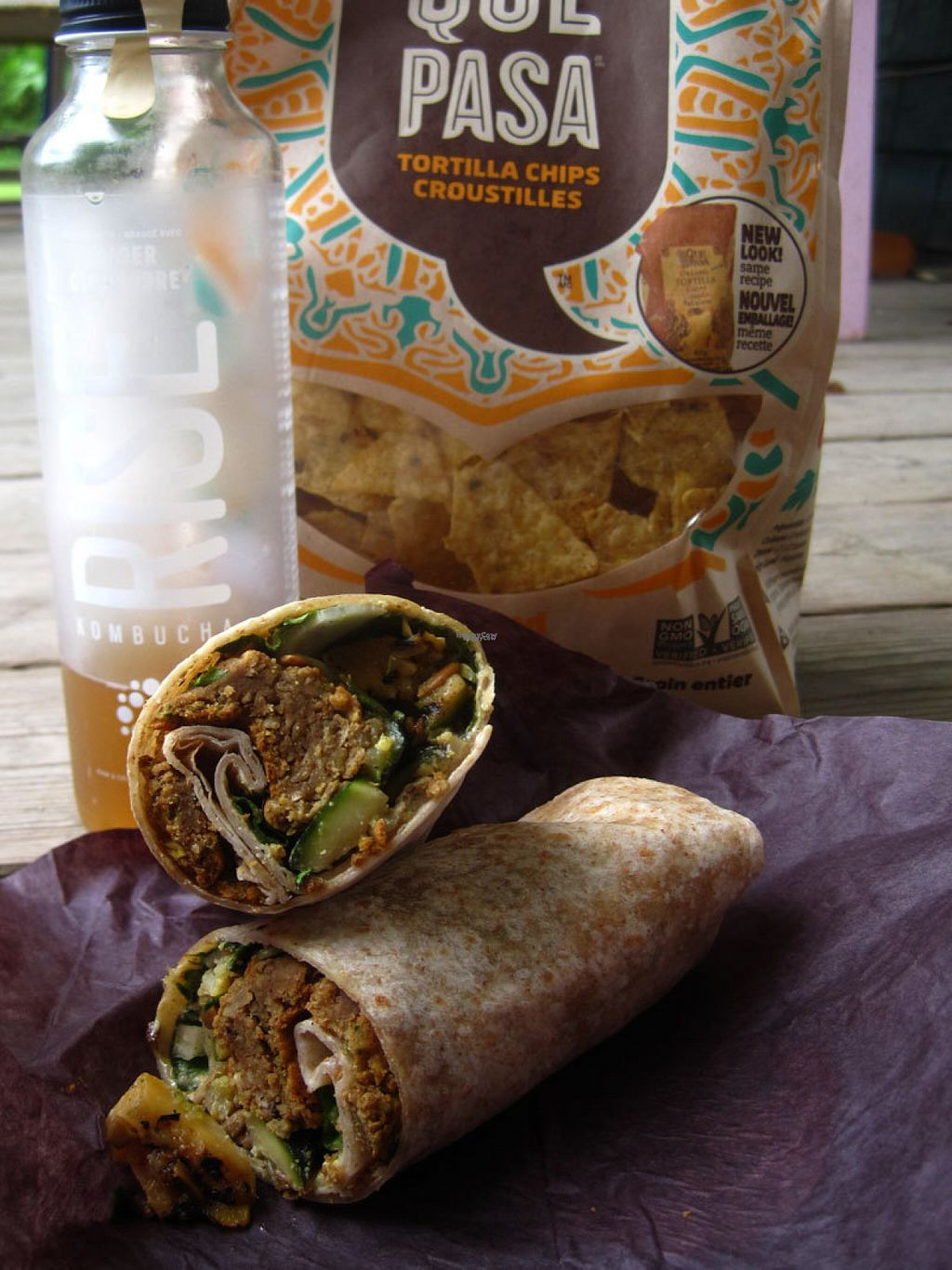 "Photo of Amarante Epicerie Ecologique  by <a href=""/members/profile/Babette"">Babette</a> <br/>Excellent falafel wrap filled with veggies, kombucha and tortilla chips <br/> August 21, 2016  - <a href='/contact/abuse/image/68486/170524'>Report</a>"