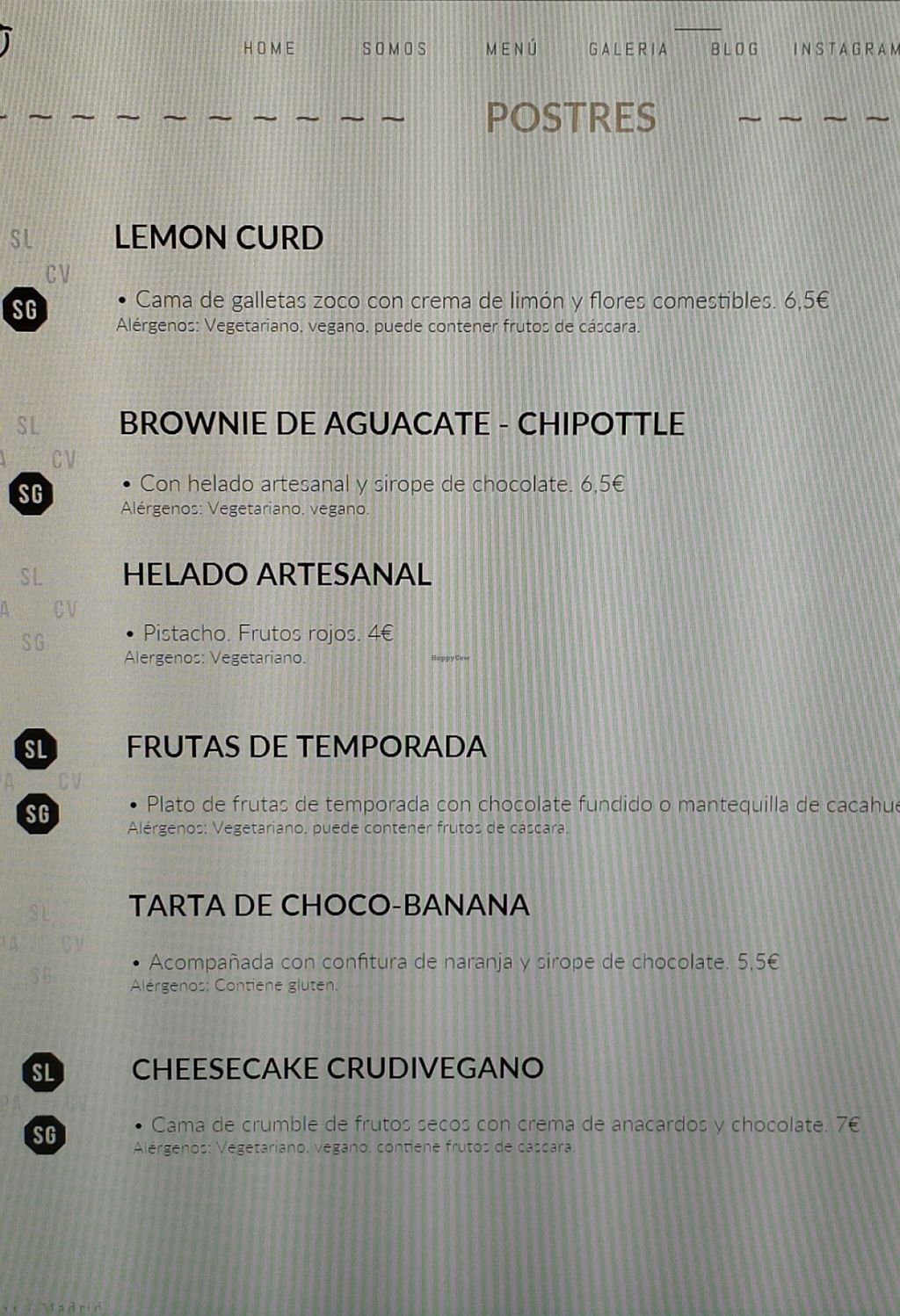 """Photo of CLOSED: Zoco Comidero-Bar  by <a href=""""/members/profile/NievesR"""">NievesR</a> <br/>Desserts <br/> January 22, 2016  - <a href='/contact/abuse/image/68499/133284'>Report</a>"""