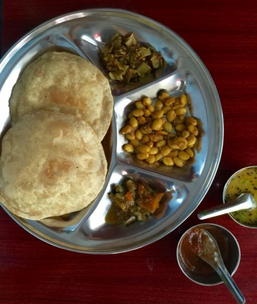 "Photo of Nepali & Indian Only Vegetable  by <a href=""/members/profile/sukilovesicecream"">sukilovesicecream</a> <br/>puri with curry <br/> January 19, 2016  - <a href='/contact/abuse/image/68501/132992'>Report</a>"