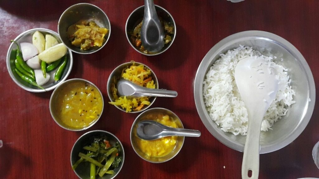 "Photo of Nepali & Indian Only Vegetable  by <a href=""/members/profile/Belle_Pattanee"">Belle_Pattanee</a> <br/>Curry Rice Set  <br/> May 28, 2016  - <a href='/contact/abuse/image/68501/151163'>Report</a>"