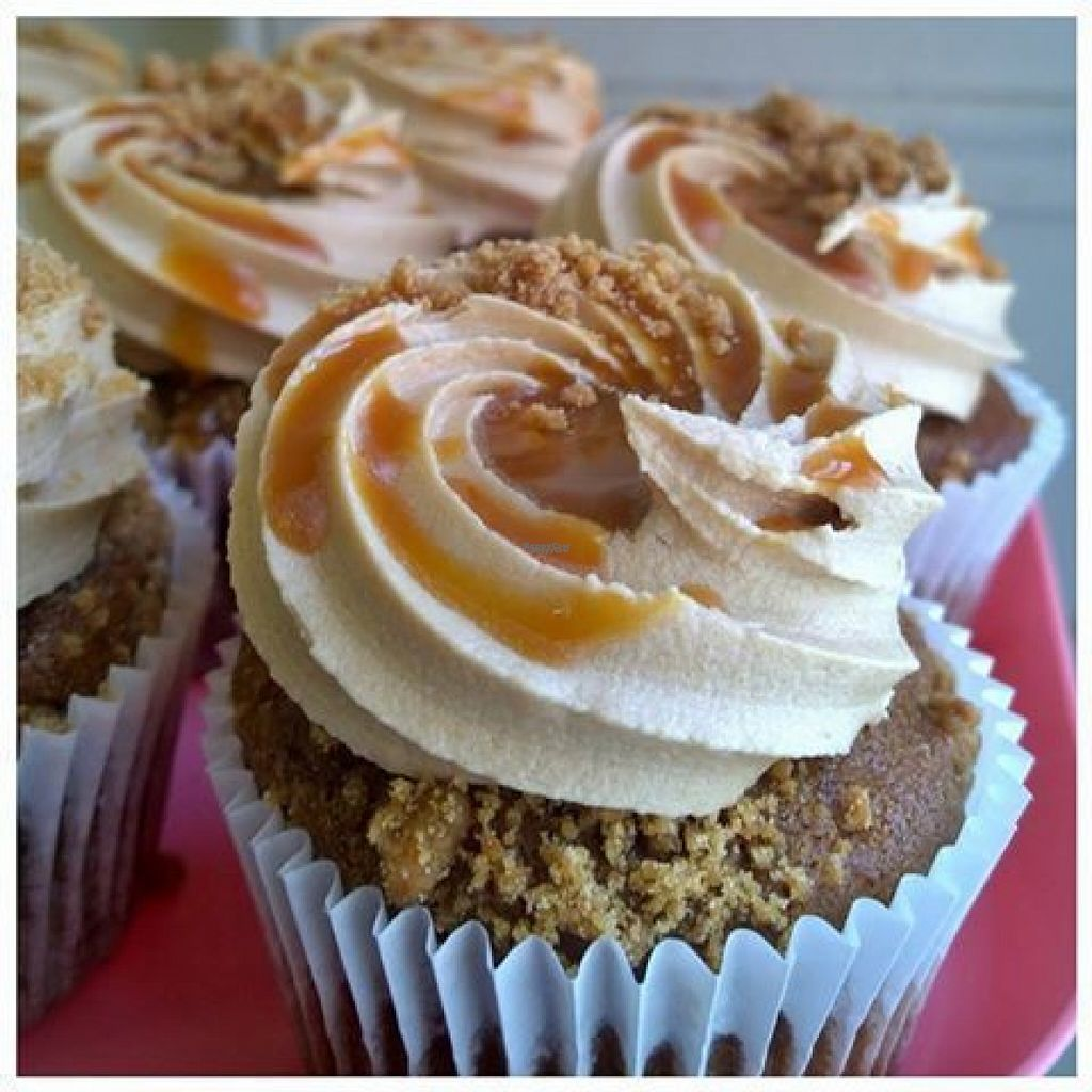 """Photo of Sugar Daddy's Bakery  by <a href=""""/members/profile/Meaks"""">Meaks</a> <br/>Vegan Salted Caramel Crunch Cupcake <br/> August 1, 2016  - <a href='/contact/abuse/image/68539/164325'>Report</a>"""