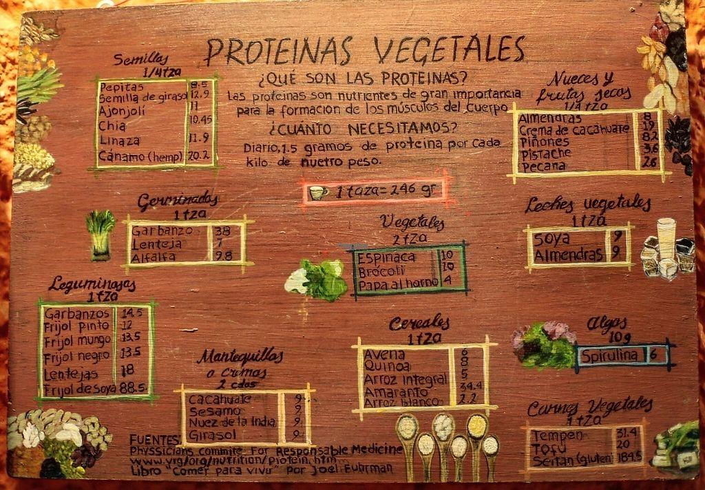 "Photo of Casita Ecovegana de Zihuatanejo Cooperativa  by <a href=""/members/profile/DaniellePetze"">DaniellePetze</a> <br/>Vegan protein sources <br/> March 30, 2017  - <a href='/contact/abuse/image/68578/242683'>Report</a>"