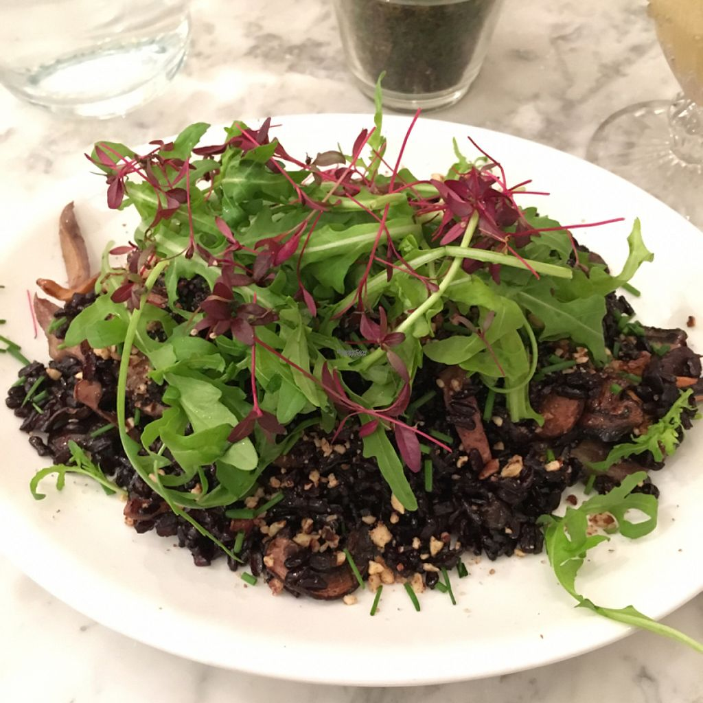 """Photo of Redemption - Shoreditch  by <a href=""""/members/profile/tryn%20ny%20ty"""">tryn ny ty</a> <br/>mushroom risotto <br/> October 29, 2016  - <a href='/contact/abuse/image/68589/185258'>Report</a>"""