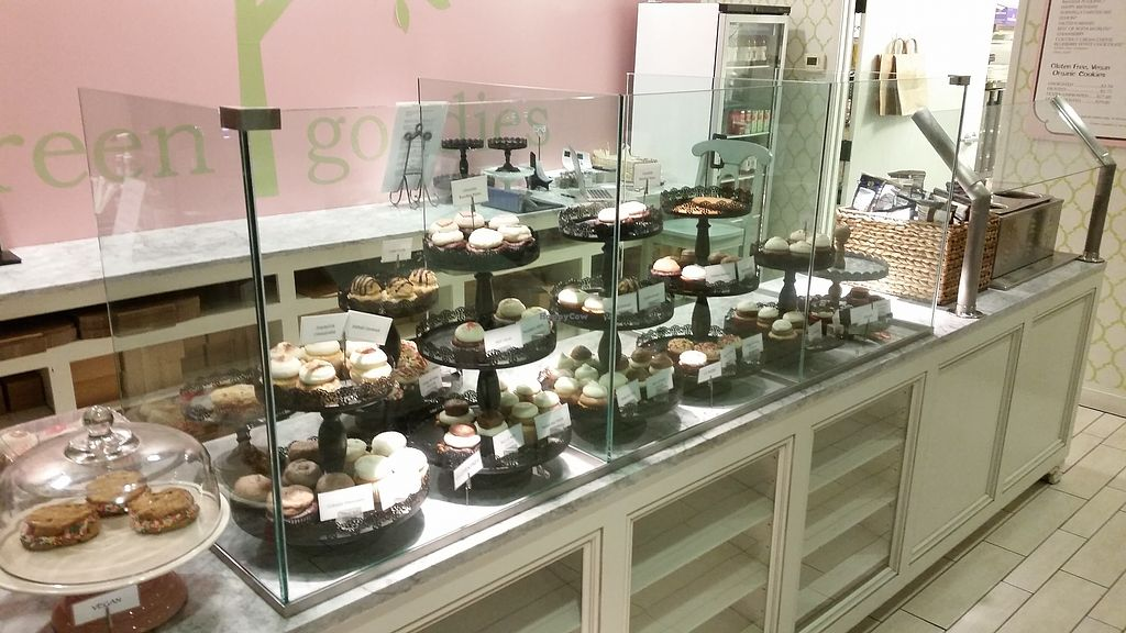 """Photo of Green Goodies  by <a href=""""/members/profile/WhatDoYouEatThen"""">WhatDoYouEatThen</a> <br/>Visited this Vegan Bakery for the first time onNov 14, 2017 based on the reviews on Happy Cow. It was also the only Veg place open at the time we were passing through (7pm?) . these were not cheap, but very good, I tried a vegan pepper & chocolate that was very good. I would eat here again  More pics at: http://whatdoyoueatthen.com/green-goodies-oklahoma-city-ok/ <br/> December 20, 2017  - <a href='/contact/abuse/image/68610/337399'>Report</a>"""