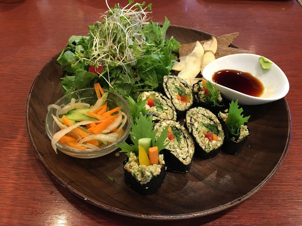 """Photo of Tahitian Noni Cafe  by <a href=""""/members/profile/Greyskies"""">Greyskies</a> <br/>raw vegan rolls - delicious! <br/> October 3, 2016  - <a href='/contact/abuse/image/68635/179493'>Report</a>"""
