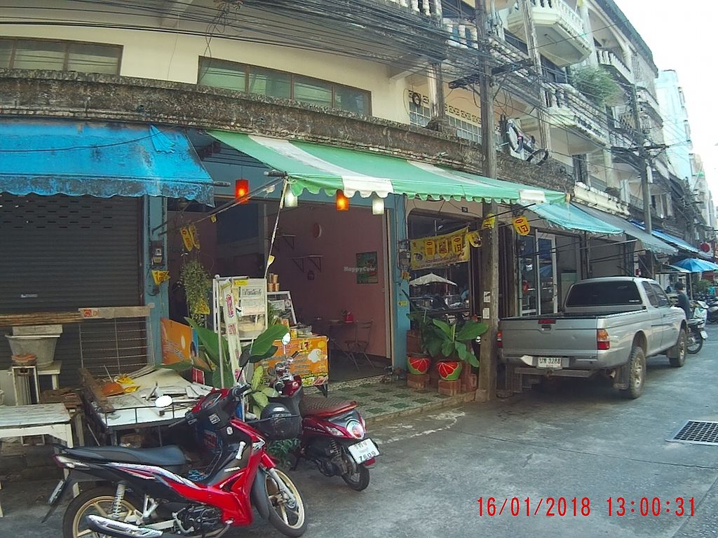 "Photo of Vegan House  by <a href=""/members/profile/mfalgas"">mfalgas</a> <br/>The restaurant seen from outside <br/> January 19, 2018  - <a href='/contact/abuse/image/68636/348232'>Report</a>"