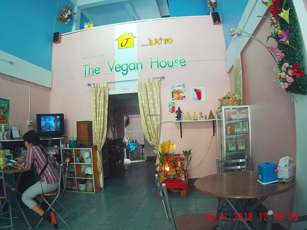 "Photo of Vegan House  by <a href=""/members/profile/mfalgas"">mfalgas</a> <br/>Inside the restaurant <br/> January 19, 2018  - <a href='/contact/abuse/image/68636/348233'>Report</a>"