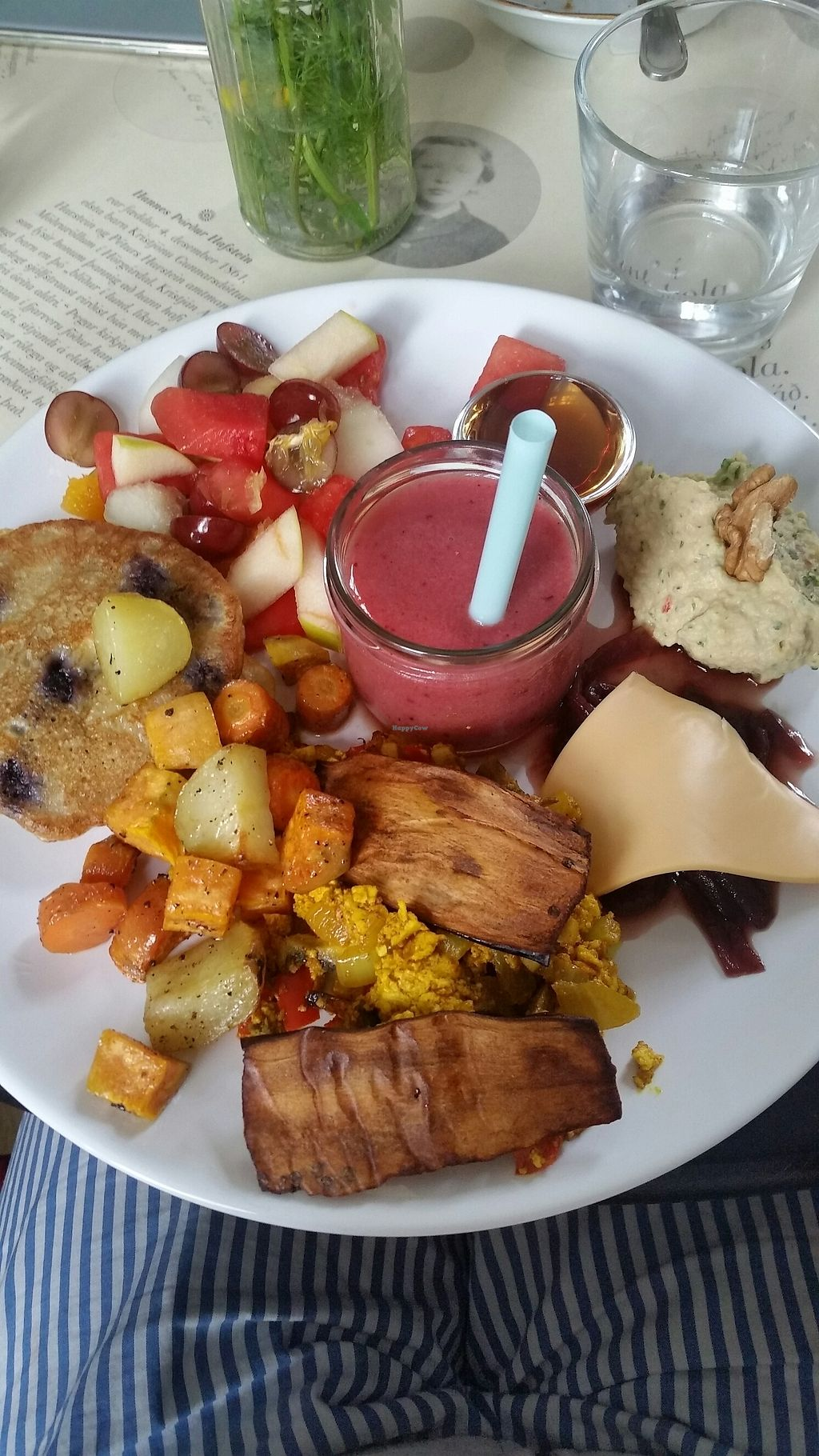 """Photo of Hannesarholt  by <a href=""""/members/profile/janinasvensgard"""">janinasvensgard</a> <br/>the vegan brunch plate <br/> July 8, 2017  - <a href='/contact/abuse/image/68652/277898'>Report</a>"""
