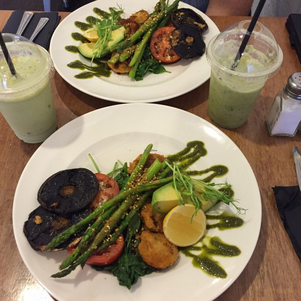 "Photo of Relish Kalgoorlie  by <a href=""/members/profile/Bushwakergirl"">Bushwakergirl</a> <br/>vegan breakfast with green smoothies.  <br/> January 24, 2016  - <a href='/contact/abuse/image/68661/133493'>Report</a>"