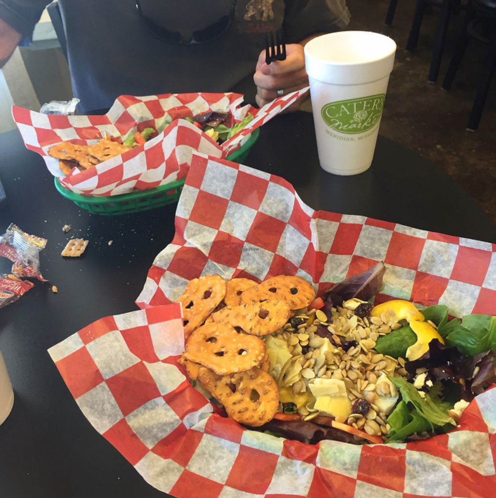 """Photo of Cater's Market  by <a href=""""/members/profile/CindyJenksDodd"""">CindyJenksDodd</a> <br/>Amazing side salad! <br/> May 26, 2017  - <a href='/contact/abuse/image/68663/262731'>Report</a>"""