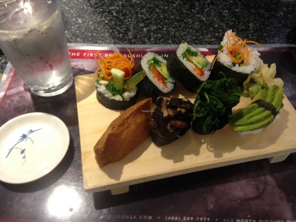 """Photo of Sushi Hana  by <a href=""""/members/profile/Dragonfrye"""">Dragonfrye</a> <br/>veggie lunch special <br/> July 28, 2016  - <a href='/contact/abuse/image/68679/162990'>Report</a>"""