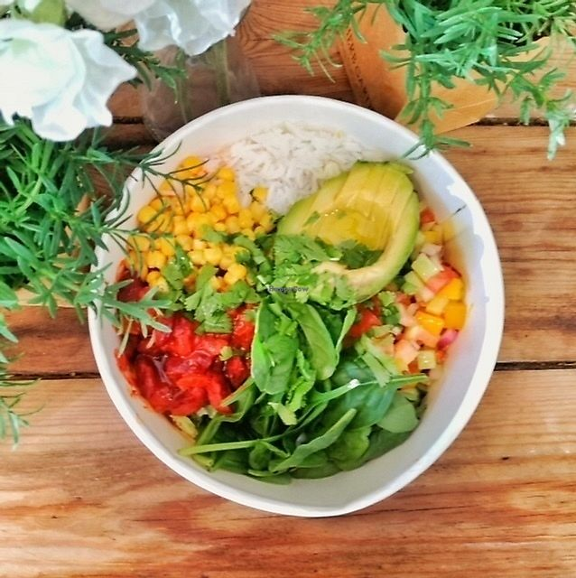 """Photo of Lucky Break Coffee Shop  by <a href=""""/members/profile/luckybreakfactory"""">luckybreakfactory</a> <br/>Mexican buddha bowls <br/> December 15, 2017  - <a href='/contact/abuse/image/68686/335773'>Report</a>"""
