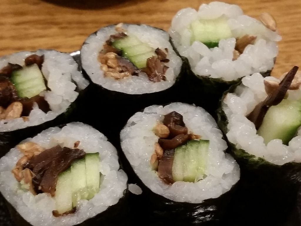"""Photo of Youmiko Vegan Sushi  by <a href=""""/members/profile/eric"""">eric</a> <br/>part of sushi set <br/> May 11, 2016  - <a href='/contact/abuse/image/68693/148466'>Report</a>"""