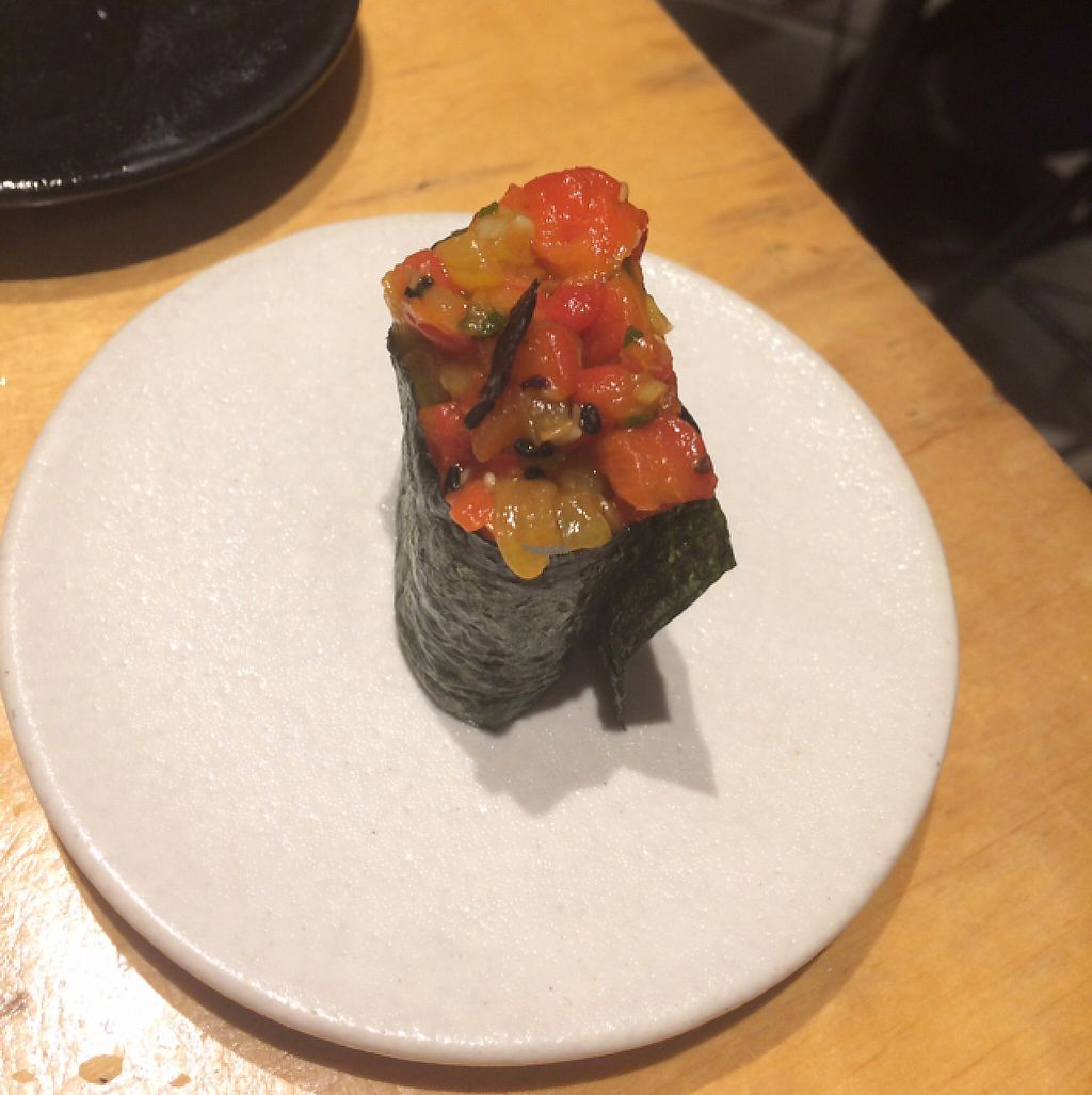 """Photo of Youmiko Vegan Sushi  by <a href=""""/members/profile/monisonfire"""">monisonfire</a> <br/>special treat!  <br/> April 26, 2017  - <a href='/contact/abuse/image/68693/252824'>Report</a>"""