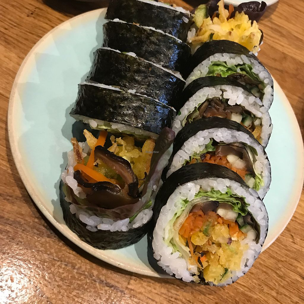"""Photo of Youmiko Vegan Sushi  by <a href=""""/members/profile/ellengdx"""">ellengdx</a> <br/>Absolutely the best sushi I have ever had.  <br/> January 8, 2018  - <a href='/contact/abuse/image/68693/344438'>Report</a>"""
