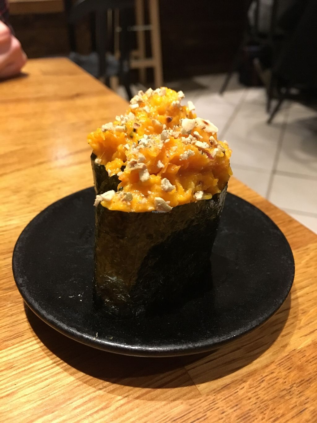 """Photo of Youmiko Vegan Sushi  by <a href=""""/members/profile/Kwacha"""">Kwacha</a> <br/>tasting menu <br/> January 17, 2018  - <a href='/contact/abuse/image/68693/347635'>Report</a>"""