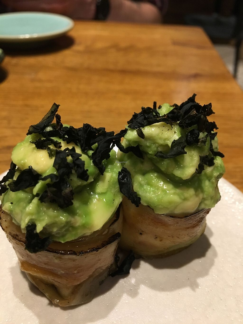 """Photo of Youmiko Vegan Sushi  by <a href=""""/members/profile/Kwacha"""">Kwacha</a> <br/>tasting menu <br/> January 17, 2018  - <a href='/contact/abuse/image/68693/347638'>Report</a>"""