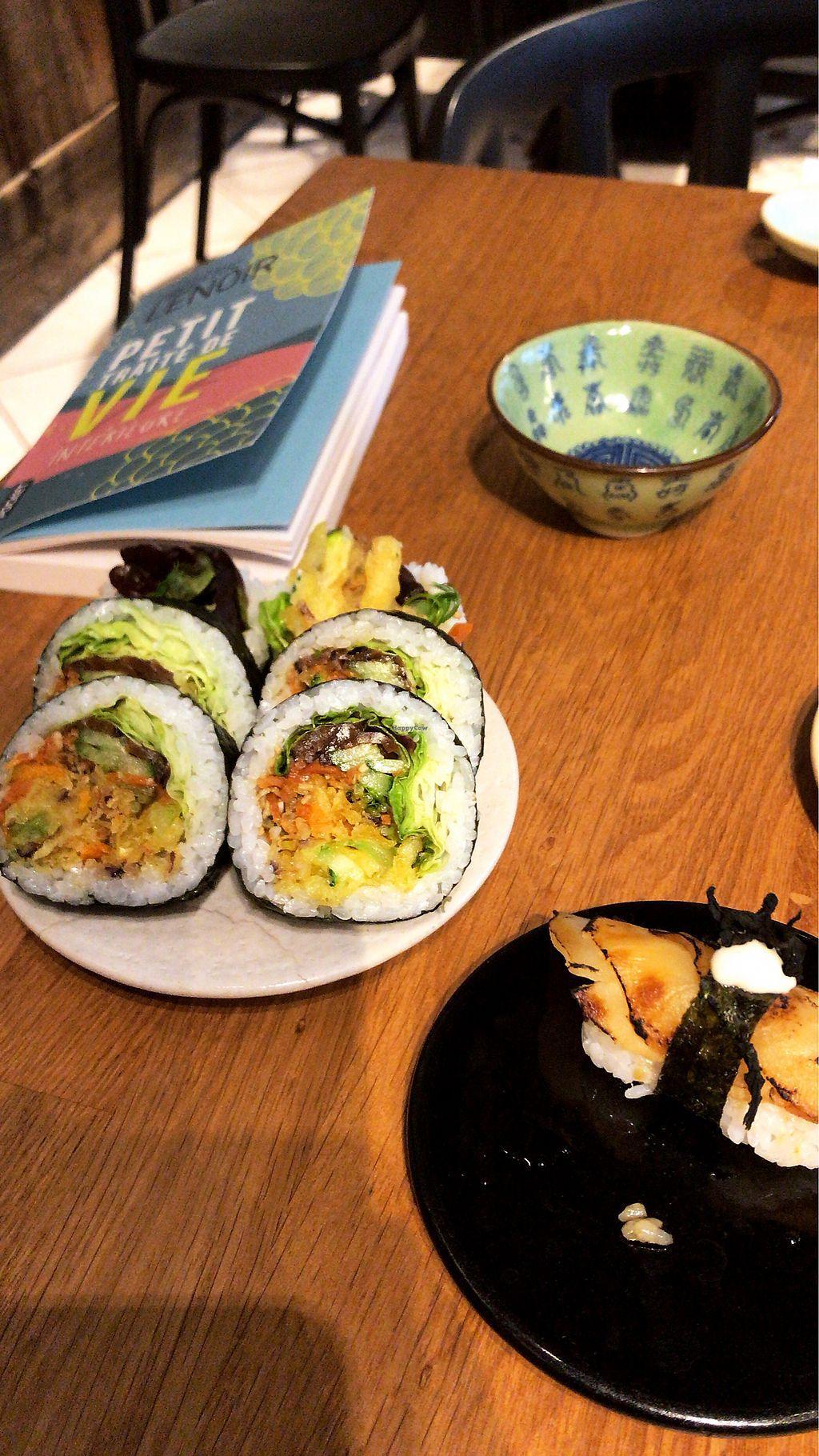 """Photo of Youmiko Vegan Sushi  by <a href=""""/members/profile/LaureMat"""">LaureMat</a> <br/>Sushi  <br/> April 2, 2018  - <a href='/contact/abuse/image/68693/379972'>Report</a>"""