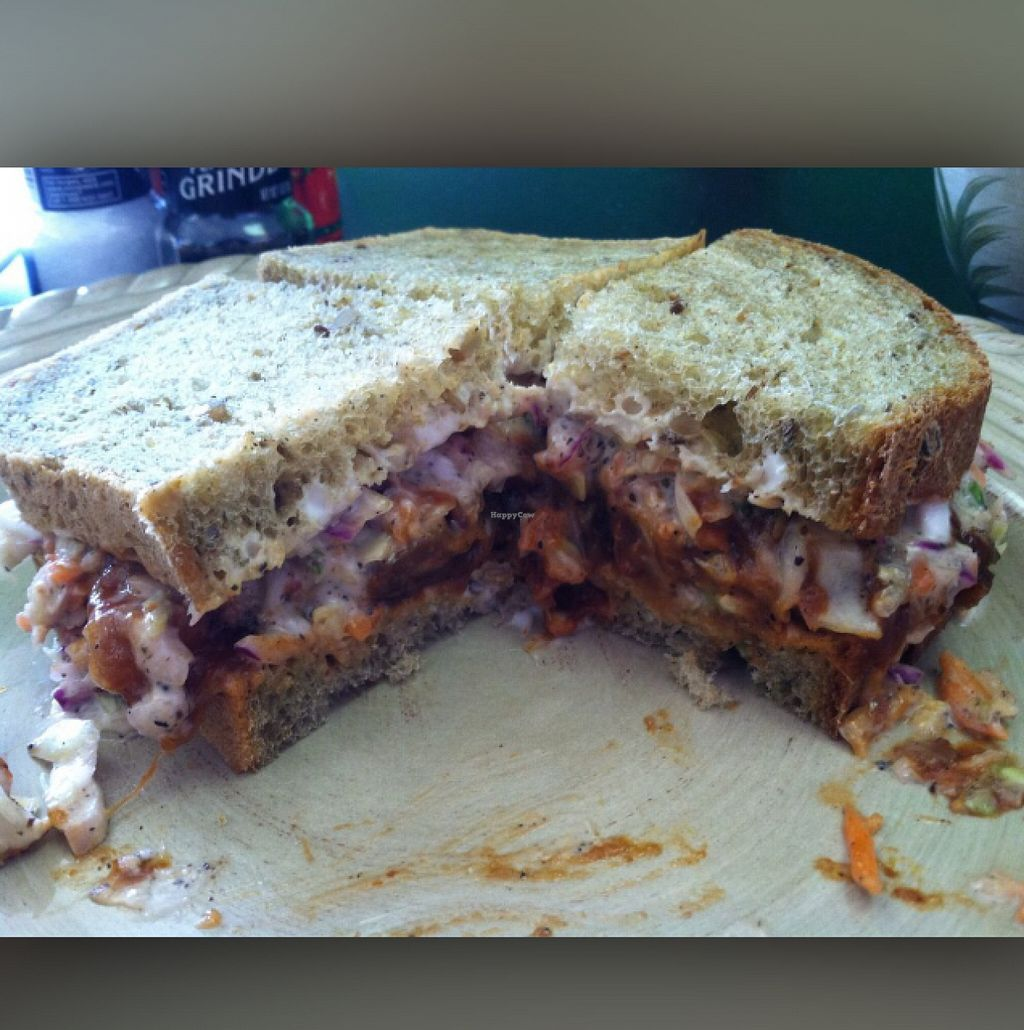 """Photo of Pure  by <a href=""""/members/profile/mfmonroe04"""">mfmonroe04</a> <br/>Vegan BBQ jackfruit Sammy!  <br/> May 23, 2016  - <a href='/contact/abuse/image/68758/150558'>Report</a>"""