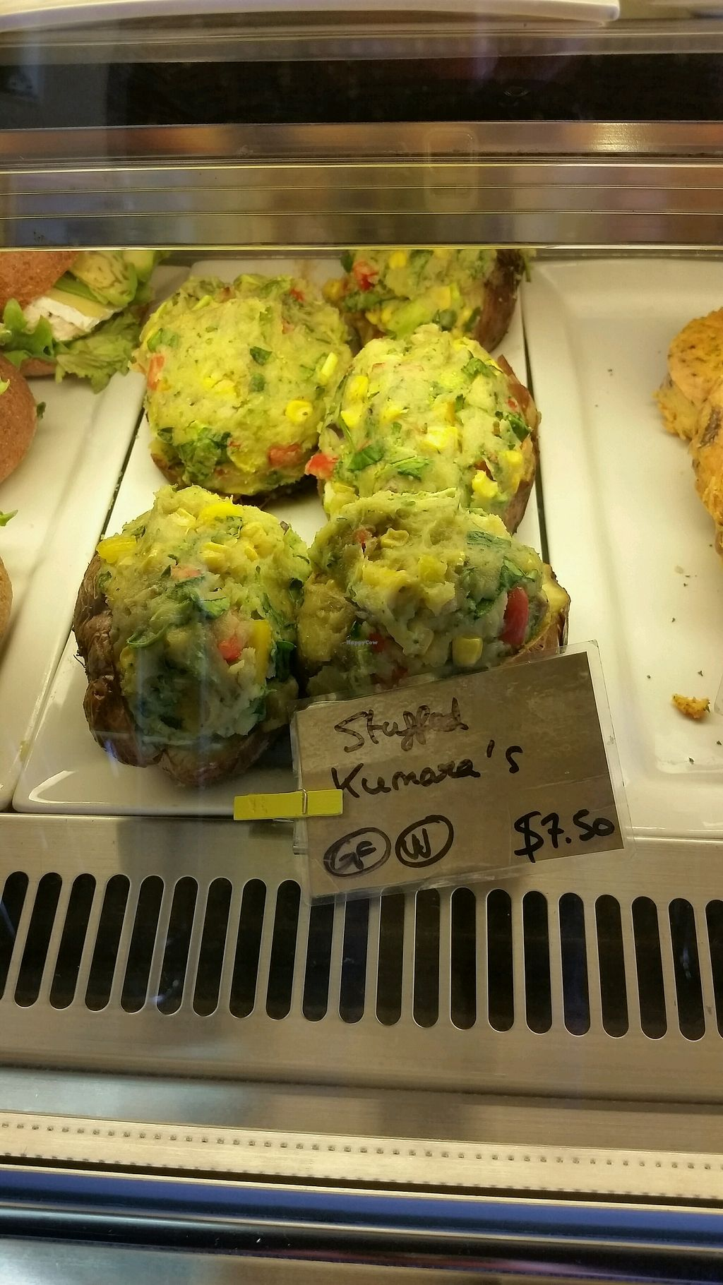 """Photo of Ritual Coffee Company  by <a href=""""/members/profile/Nikki1801"""">Nikki1801</a> <br/>stuffed kumara <br/> September 10, 2017  - <a href='/contact/abuse/image/68847/302834'>Report</a>"""