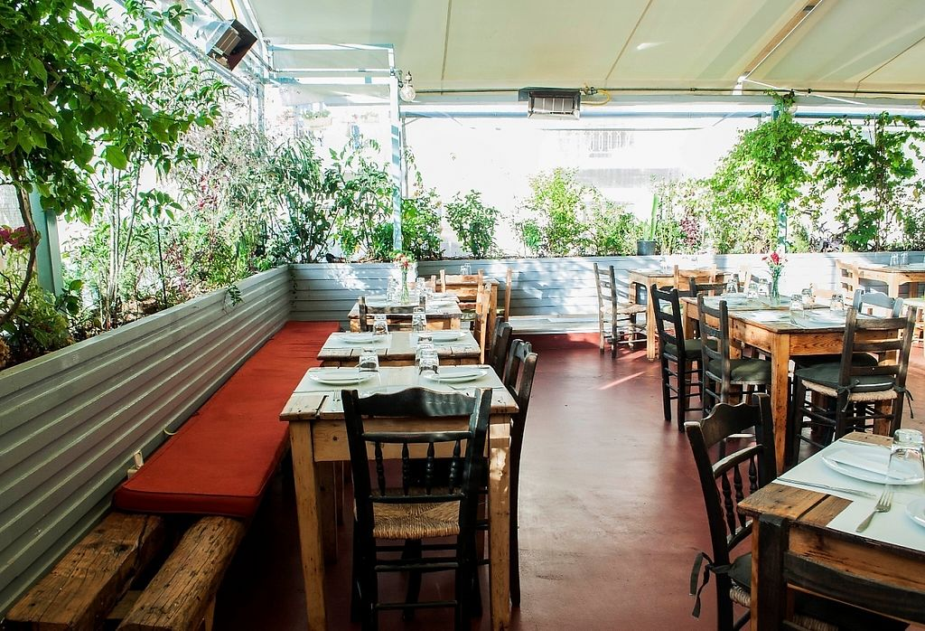"""Photo of Mystic Pizza - Ferekydou  by <a href=""""/members/profile/MysticBabis"""">MysticBabis</a> <br/>Mystic pizza  roof garden  in Kallimarmaro Satdium <br/> May 28, 2017  - <a href='/contact/abuse/image/68852/263239'>Report</a>"""