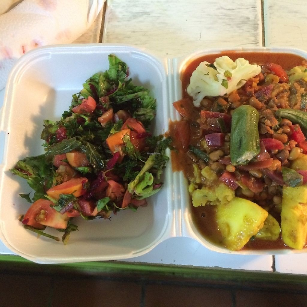 """Photo of Roots Reggae Vegetarian Cafe  by <a href=""""/members/profile/Delphinus"""">Delphinus</a> <br/>colourful selection <br/> January 30, 2016  - <a href='/contact/abuse/image/68862/274465'>Report</a>"""
