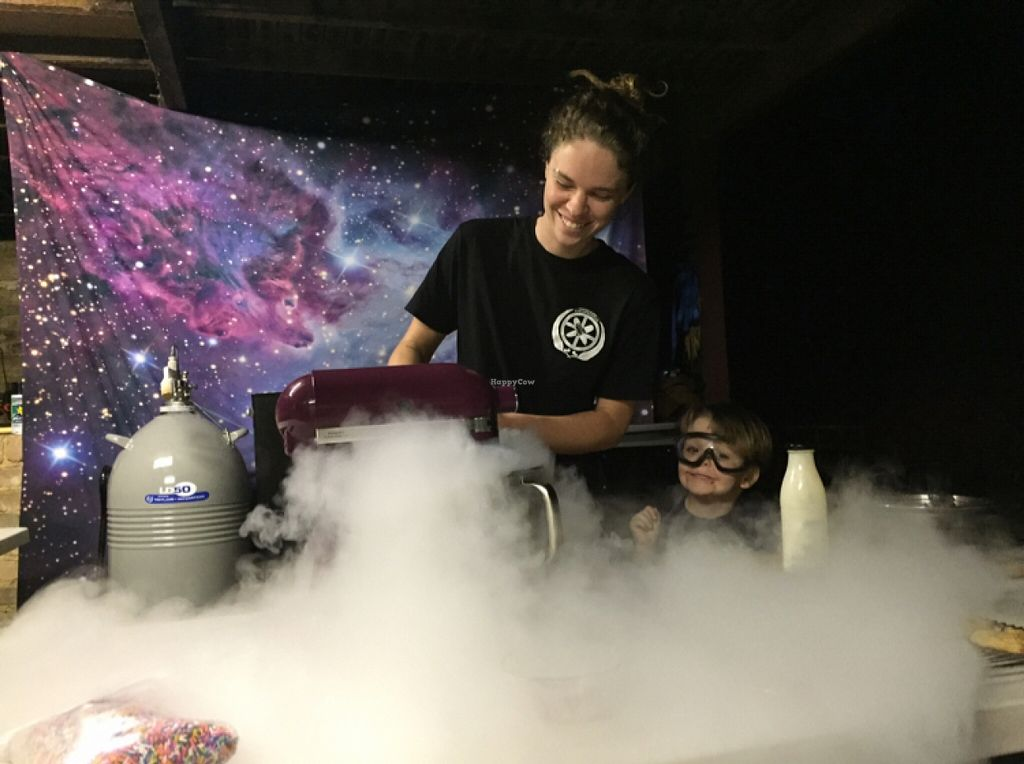 "Photo of Space Bars Ice Creamery  by <a href=""/members/profile/Dirt_girl"">Dirt_girl</a> <br/>Ice cream creationists in the secret underground lair  <br/> February 18, 2016  - <a href='/contact/abuse/image/68875/136830'>Report</a>"