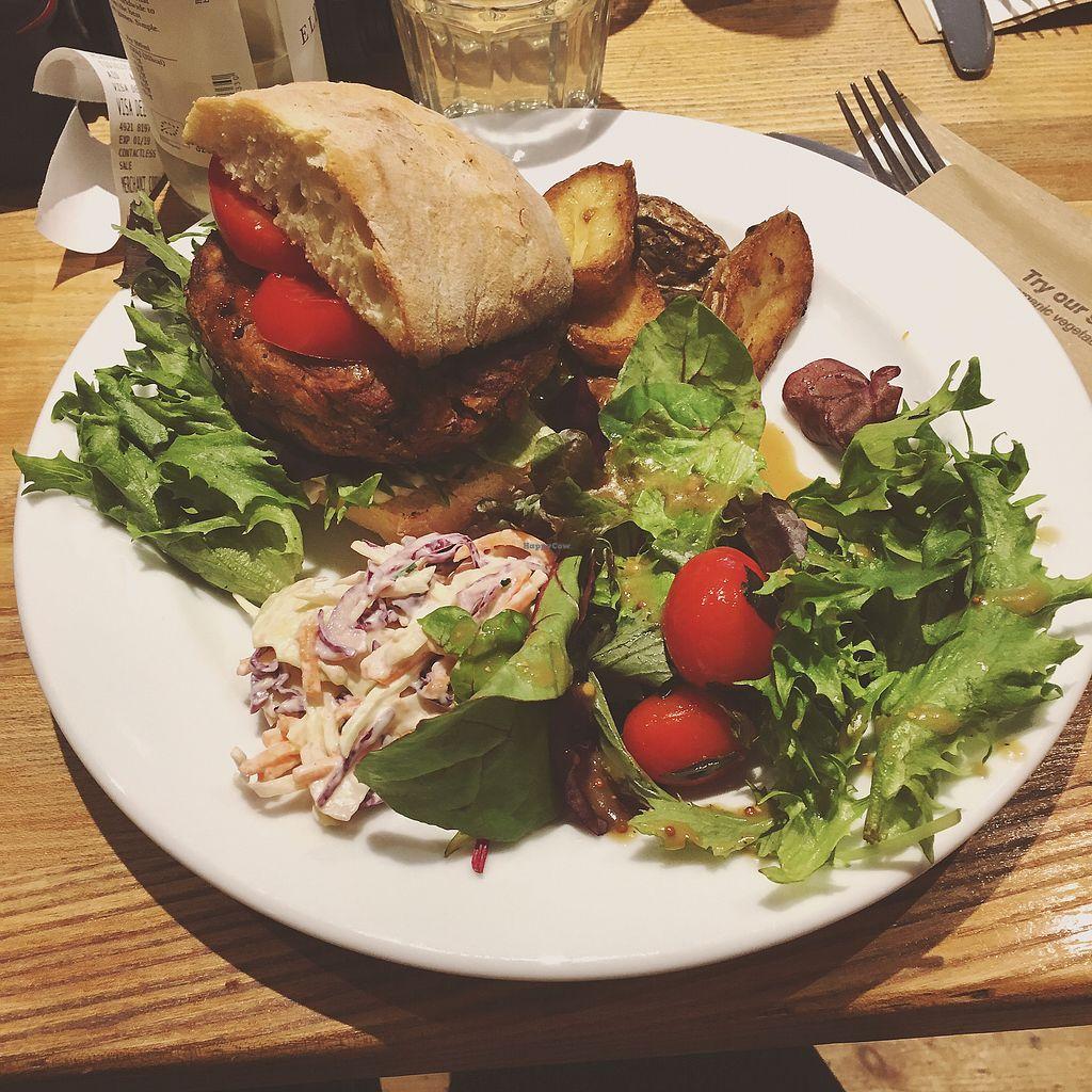 "Photo of The Garden Cafe  by <a href=""/members/profile/ClareKnighton"">ClareKnighton</a> <br/>Thai burger <br/> September 28, 2017  - <a href='/contact/abuse/image/6888/309422'>Report</a>"