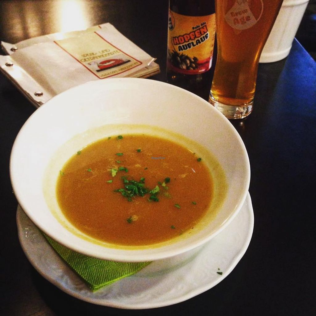 "Photo of Cafe Harlekin  by <a href=""/members/profile/krck"">krck</a> <br/>spicy pumpkin coconut soup <br/> January 31, 2016  - <a href='/contact/abuse/image/68890/134395'>Report</a>"