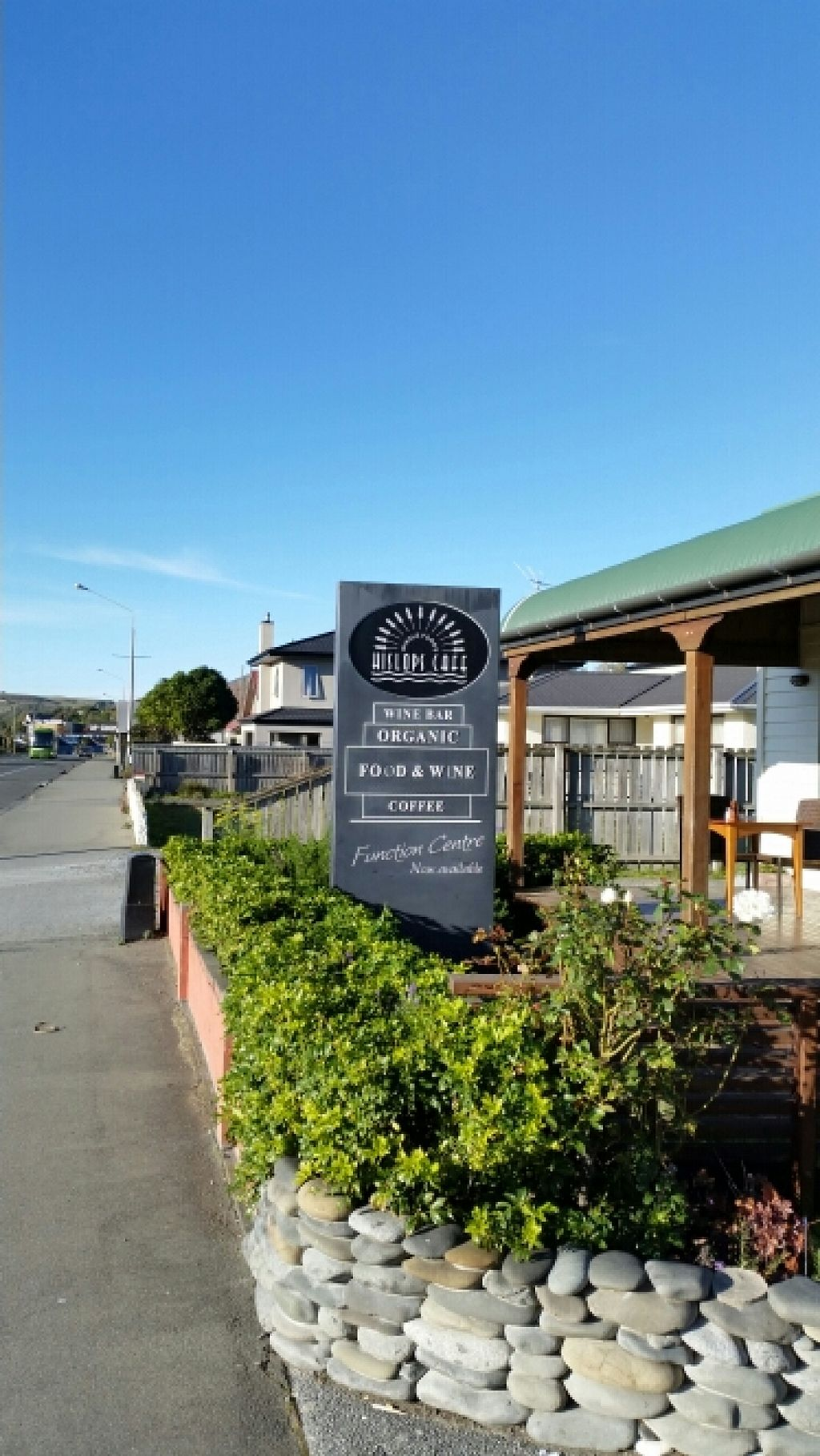"""Photo of Hislop's Cafe  by <a href=""""/members/profile/AndyTheVWDude"""">AndyTheVWDude</a> <br/>Hislops Cafe Kaikoura <br/> April 19, 2016  - <a href='/contact/abuse/image/6890/145372'>Report</a>"""