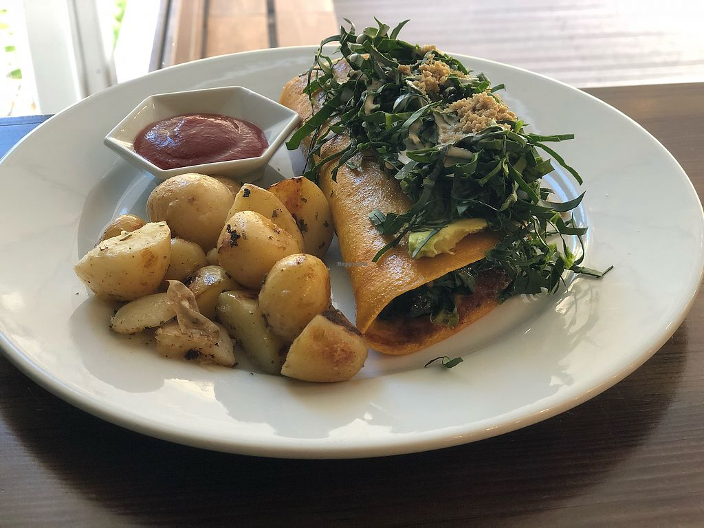 "Photo of The Pitted Date  by <a href=""/members/profile/BRomans"">BRomans</a> <br/>Spinach Omelette was fantastic! <br/> February 28, 2018  - <a href='/contact/abuse/image/68915/364904'>Report</a>"