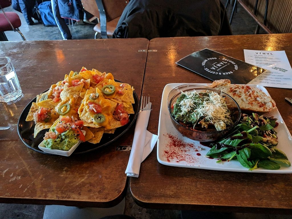 """Photo of Kaffi Vinyl  by <a href=""""/members/profile/StephanieJansen"""">StephanieJansen</a> <br/>nachos and lasagna ? <br/> January 6, 2018  - <a href='/contact/abuse/image/68917/343614'>Report</a>"""