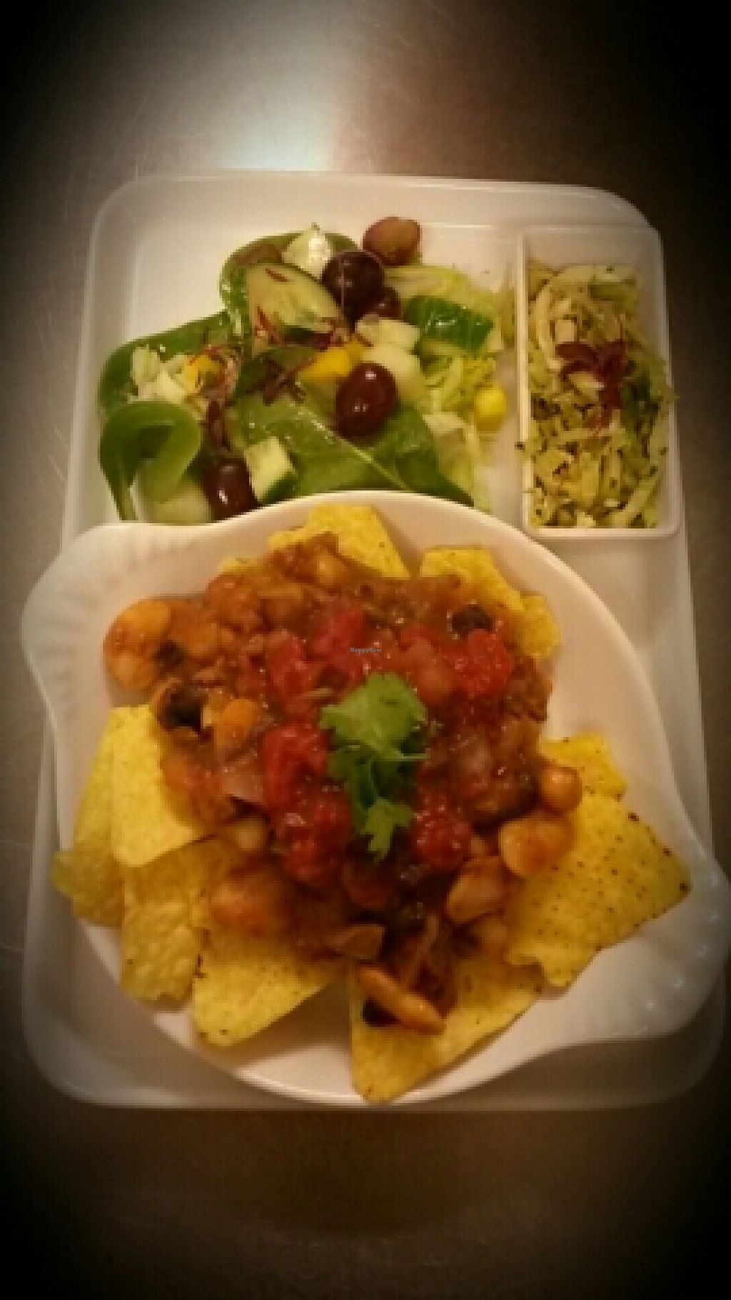 "Photo of Taste of Shrewsbury  by <a href=""/members/profile/sarahjj"">sarahjj</a> <br/>Vegan nachos: mixed bean chilli,homemade salsa,salad and green slaw  <br/> April 26, 2016  - <a href='/contact/abuse/image/68928/146320'>Report</a>"