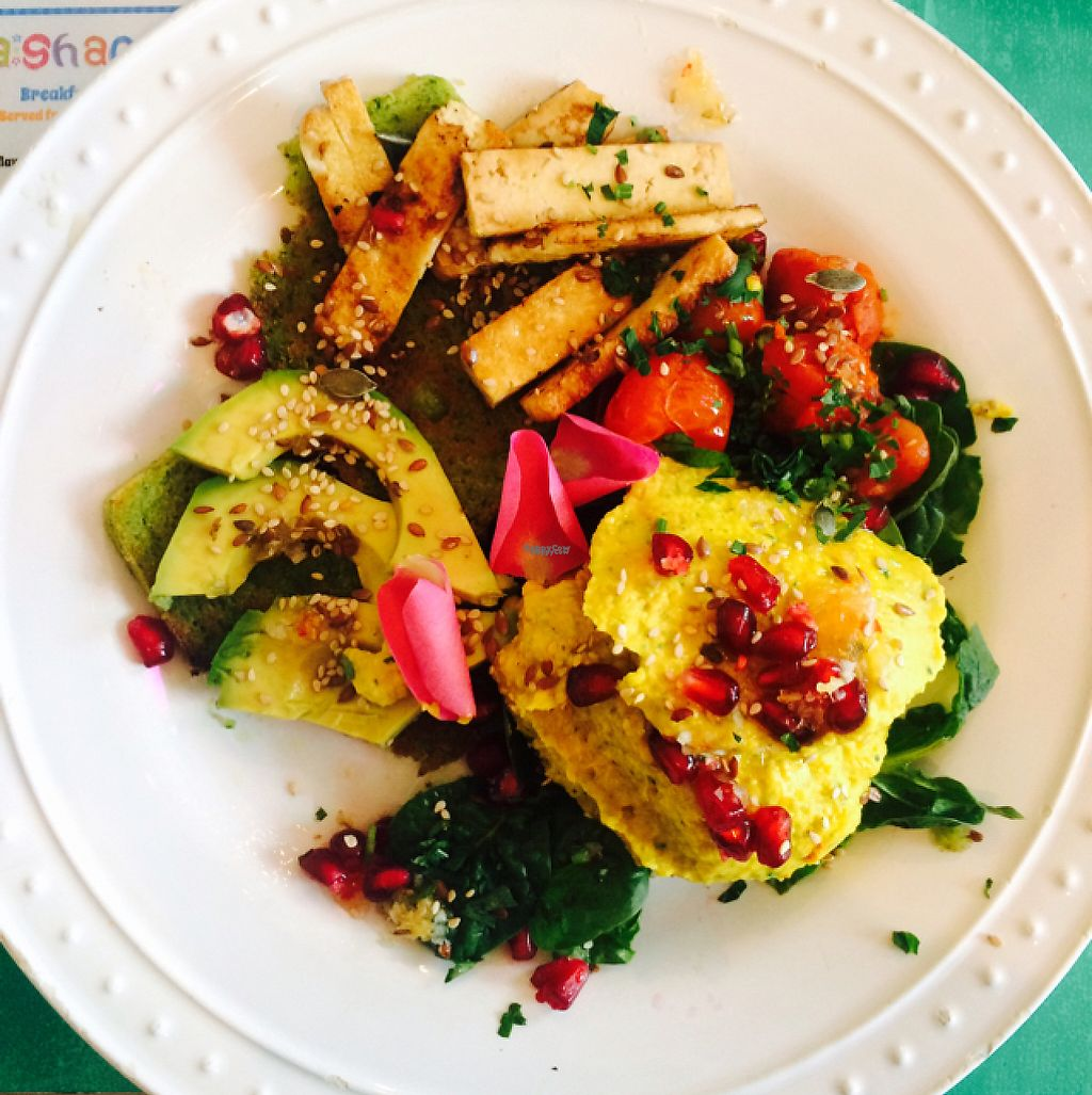 """Photo of Mama Ghanoushe  by <a href=""""/members/profile/Maddyeve88"""">Maddyeve88</a> <br/>Avocado on toast  <br/> February 11, 2017  - <a href='/contact/abuse/image/68957/225332'>Report</a>"""