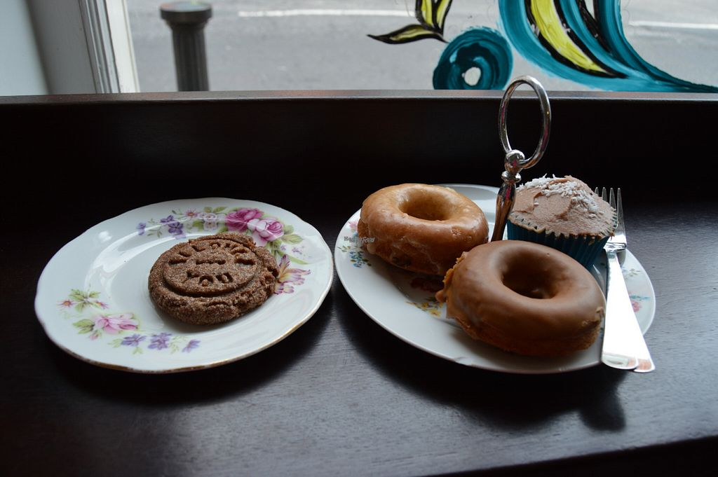 """Photo of CLOSED: Antoinette's Bakery  by <a href=""""/members/profile/Vegan%20GiGi"""">Vegan GiGi</a> <br/>Vegan gluten-free cookie, donuts, and cupcake <br/> September 3, 2016  - <a href='/contact/abuse/image/68958/173255'>Report</a>"""