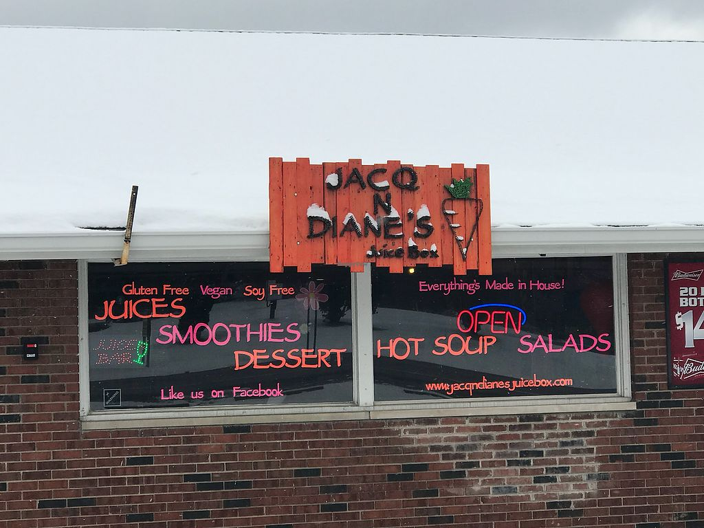 """Photo of Jacq N Diane's Juice Box  by <a href=""""/members/profile/Yojacq"""">Yojacq</a> <br/>Store Front <br/> April 16, 2018  - <a href='/contact/abuse/image/68988/386876'>Report</a>"""