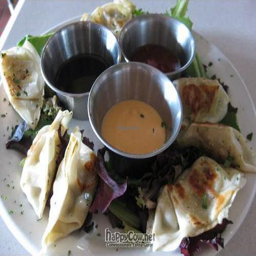 "Photo of CLOSED: Sluggo's  by <a href=""/members/profile/danakscully64"">danakscully64</a> <br/>Pot Stickers with Dipping Sauces <br/> July 22, 2010  - <a href='/contact/abuse/image/6900/5260'>Report</a>"