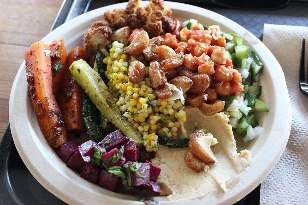 "Photo of Moshe's Golden Falafel - McCullough Ave  by <a href=""/members/profile/veggie_htx"">veggie_htx</a> <br/>Platter <br/> October 11, 2016  - <a href='/contact/abuse/image/69105/181442'>Report</a>"