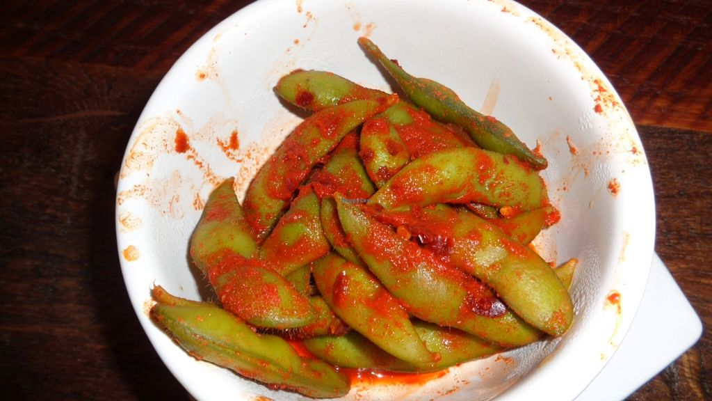 "Photo of Barrel33  by <a href=""/members/profile/GeaugaVegan"">GeaugaVegan</a> <br/>Spicy Edamame App <br/> February 8, 2016  - <a href='/contact/abuse/image/69108/135436'>Report</a>"