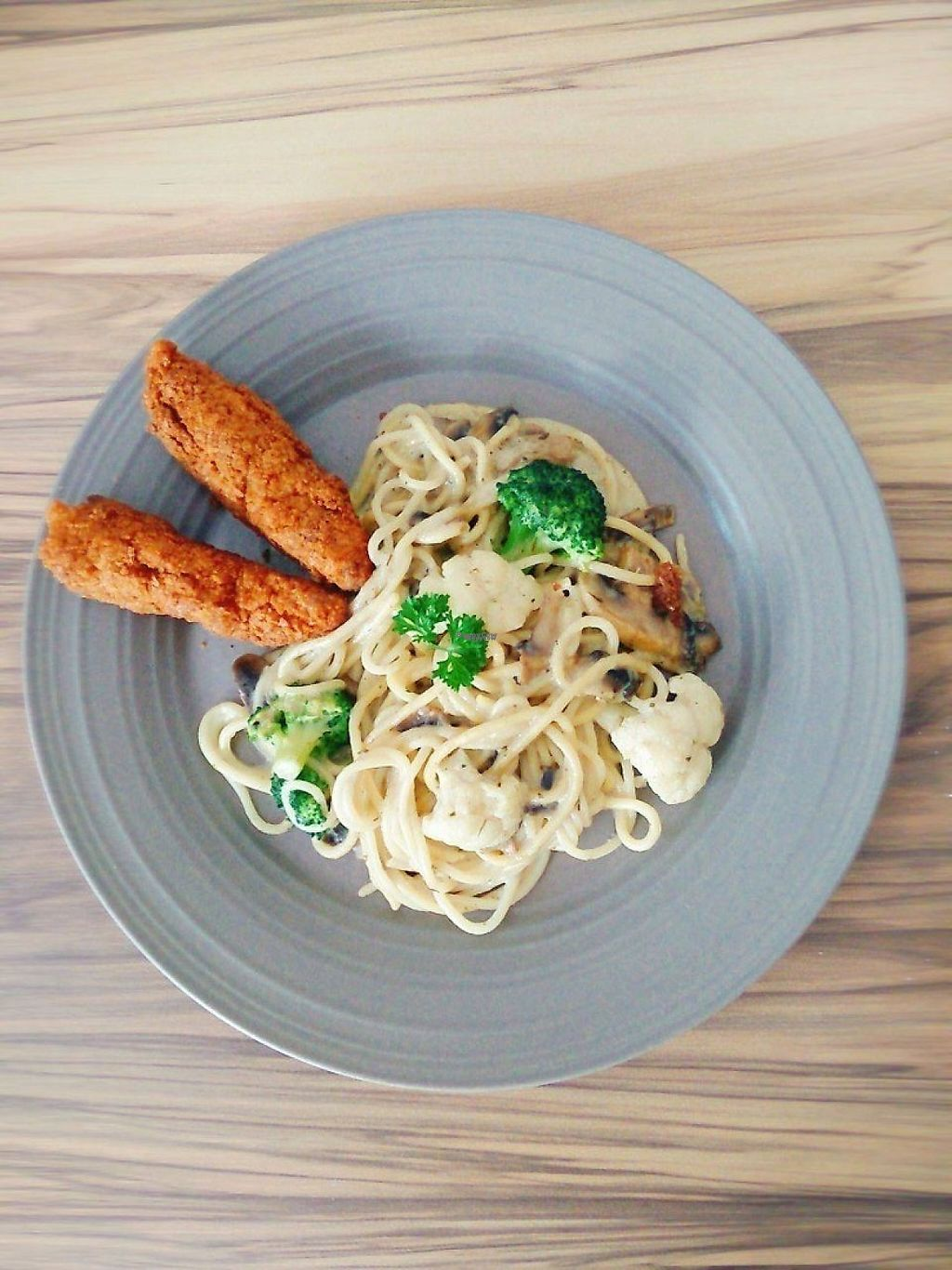 """Photo of Fresh Moment - maybe closed  by <a href=""""/members/profile/happyin"""">happyin</a> <br/>Mushroom Spaghetti with Breaded Sticcks <br/> December 27, 2016  - <a href='/contact/abuse/image/69112/204915'>Report</a>"""
