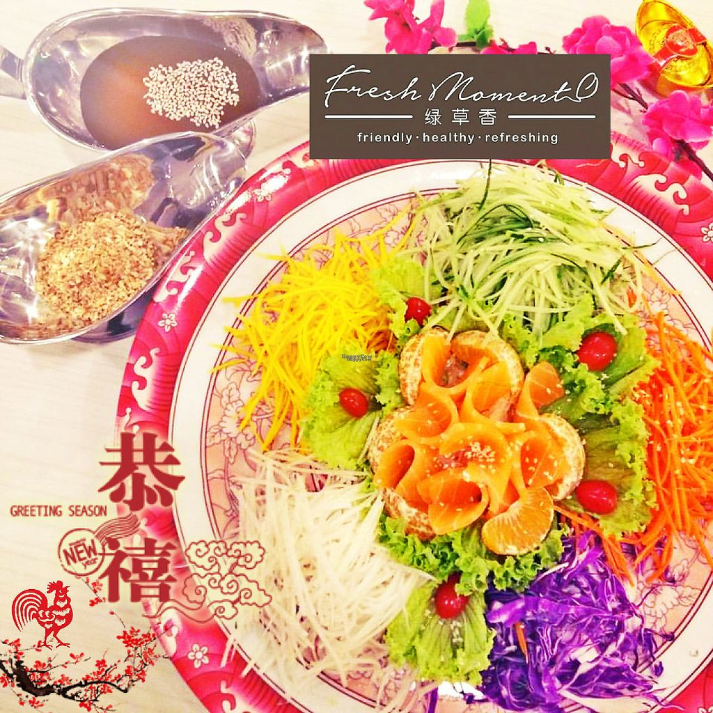 """Photo of Fresh Moment - maybe closed  by <a href=""""/members/profile/happyin"""">happyin</a> <br/>Vegetaran Yee shang Delight all is fresh vegetarian~delicious <br/> January 30, 2017  - <a href='/contact/abuse/image/69112/219552'>Report</a>"""